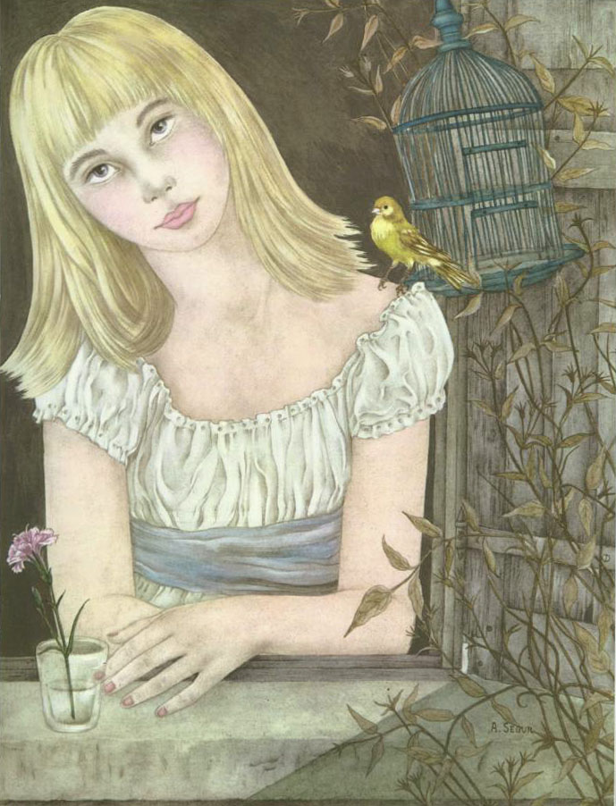 Gerda with the Canary