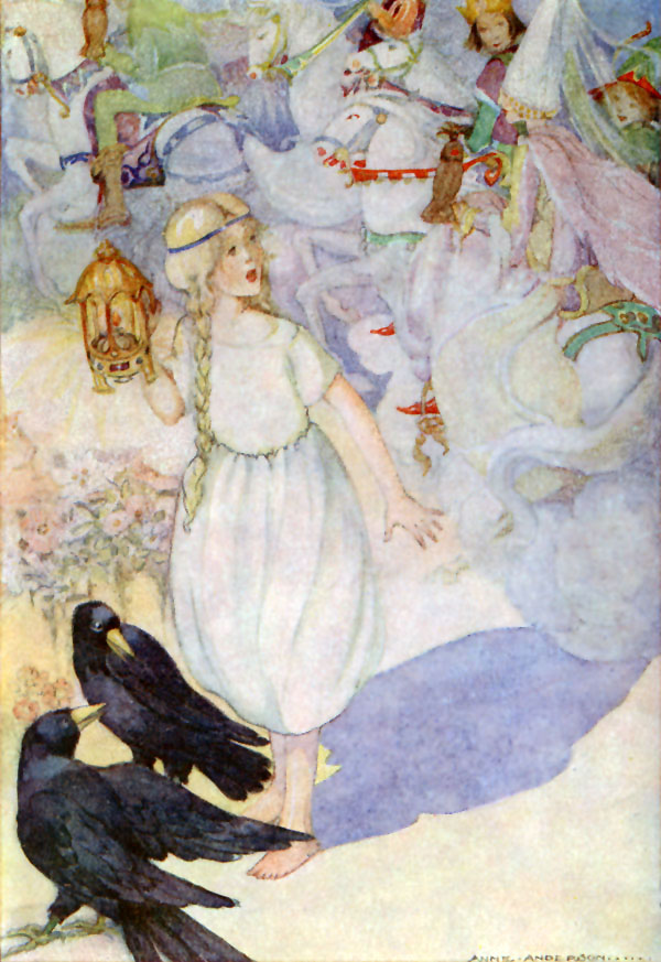 Gerda and the Ravens, Anne Anderson