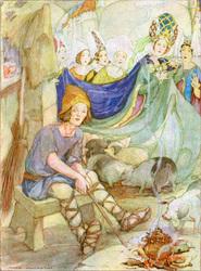The Swineherd by Anne Anderson