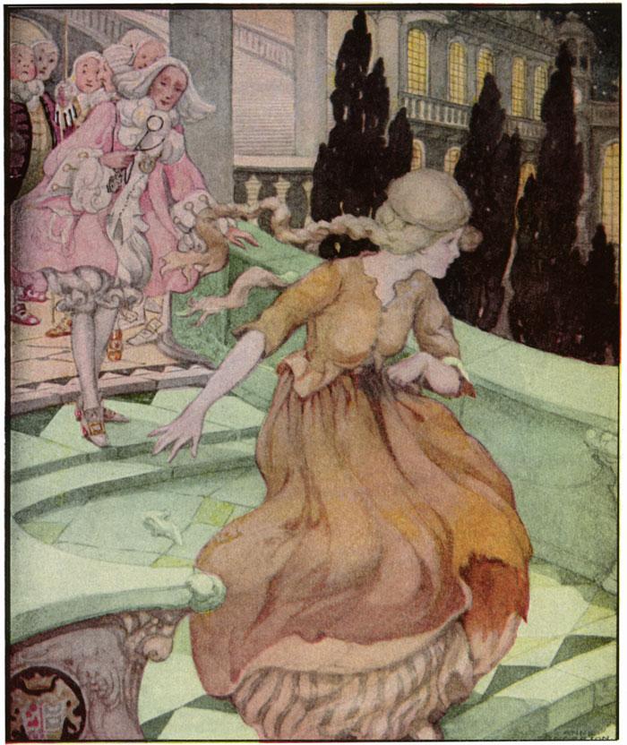 Cinderella, Anne Anderson