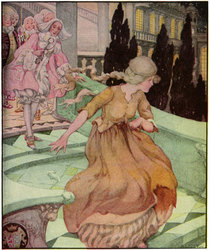 Cinderella by Anne Anderson