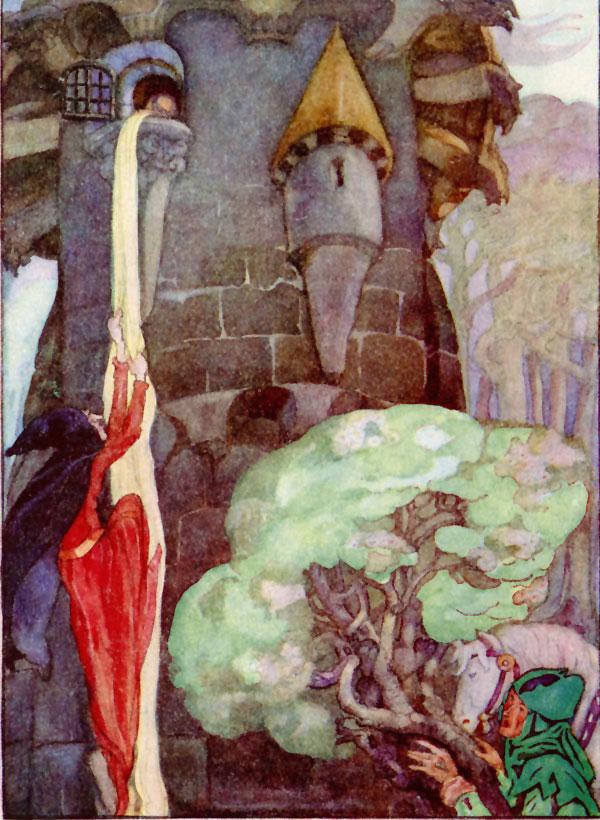 Rapunzel, Anne Anderson