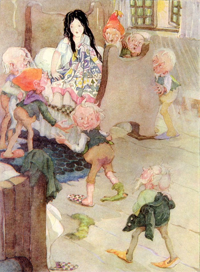 Snow White, Anne Anderson