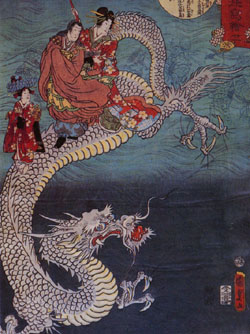 Dragon by Utagawa Kunisada