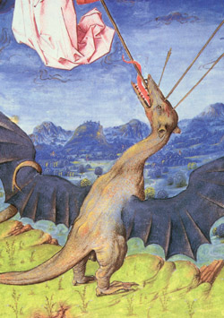 Liber Floridus Wyvern Dragon, 1448