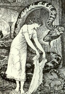 Lindorm woodcut