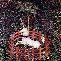 Captive Unicorn fine art print