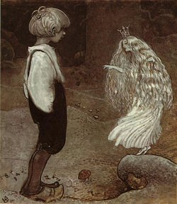 Fairy Princess from *The Seven Wishes* (John Bauer)