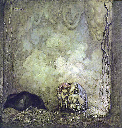 Humpe  - John Bauer Humpe  fairy tale illustration. Pinned for later from artsycraftsy.com/bauer/