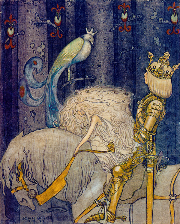 Till Sagolandet  - John Bauer   fairy tale illustration. Pinned for later from artsycraftsy.com/bauer/