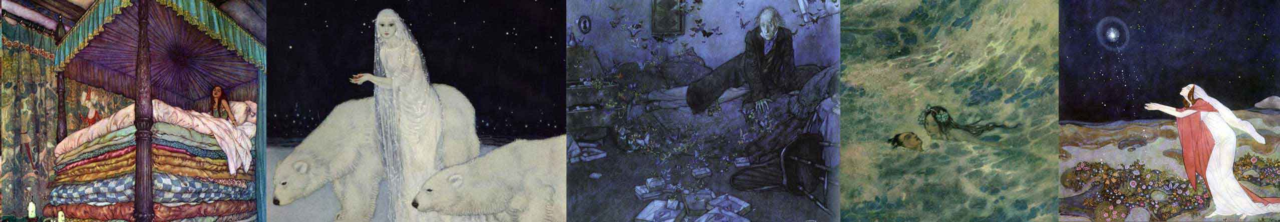 A selection of Edmund Dulac art prints at artsycraftsy.com