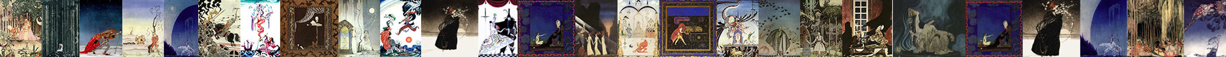 Kay Nielsen art prints at artsycraftsy.com