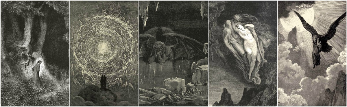 Gustave Dore Divine Comedy Art Prints at Artsy Craftsy