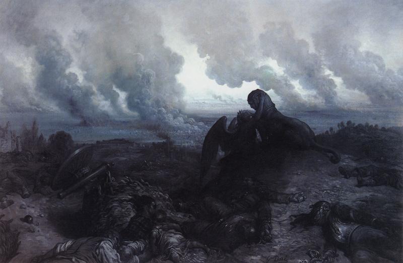 Enigma. Gustave Dore art print