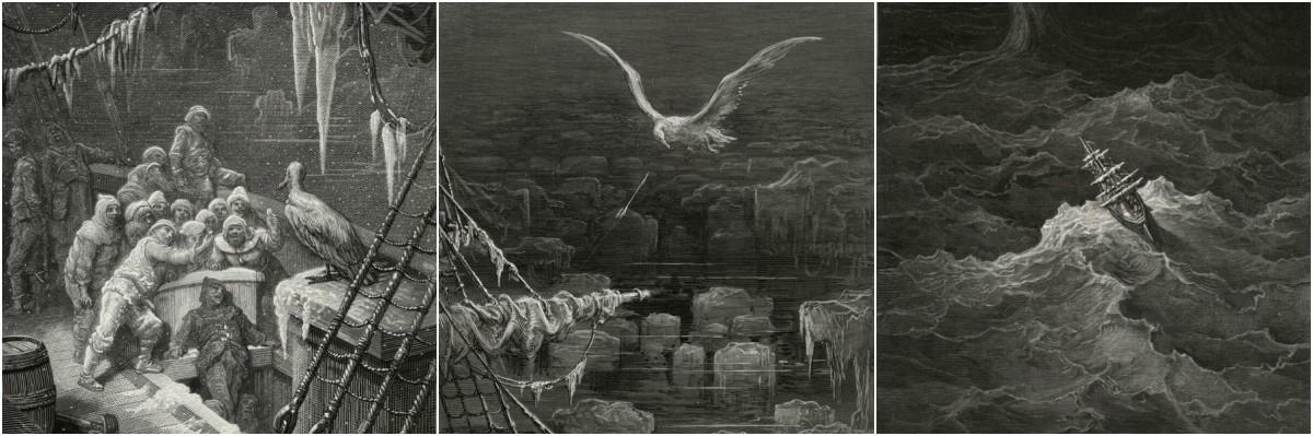 Gustave Dore Rime of the Ancient Mariner Art Prints at Artsy Craftsy