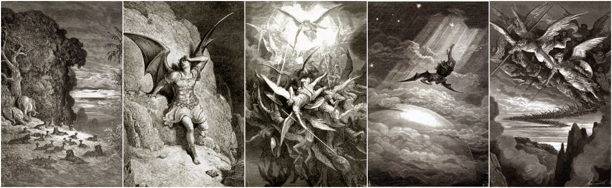 Gustave Dore Paradise Lost Art Prints at Artsy Craftsy