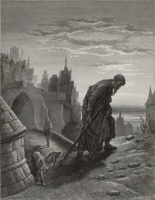 The Mariner is Gone, Gustave Dore art print