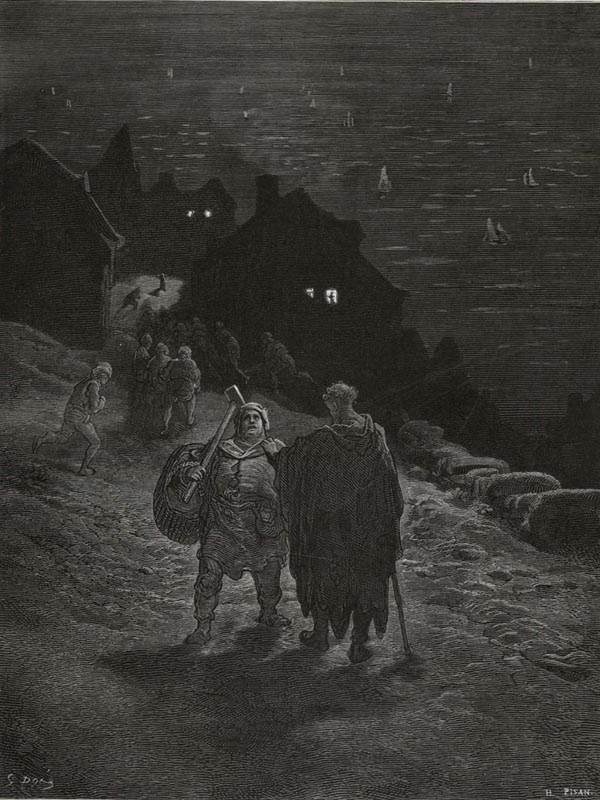 I know the man that must hear me. Gustave Dore art print