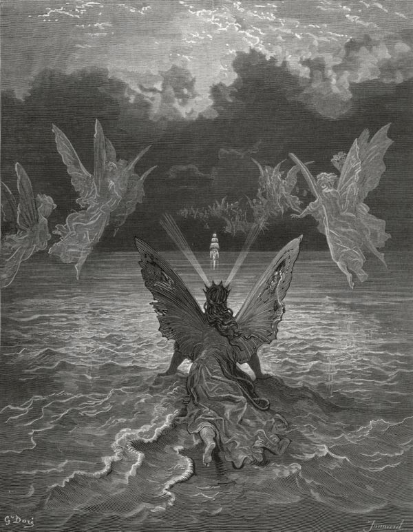 The sails made on pleasant Noise. Gustave Dore art print