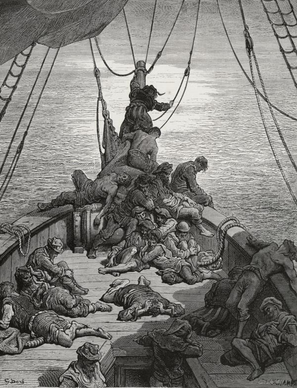 Water, water, everywhere. Gustave Dore art print