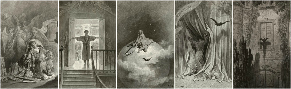 Gustave Dore, The Raven art prints