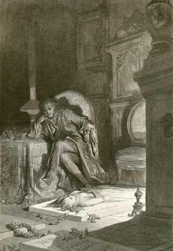 Fancy Unto Fancy, Gustave Dore art print