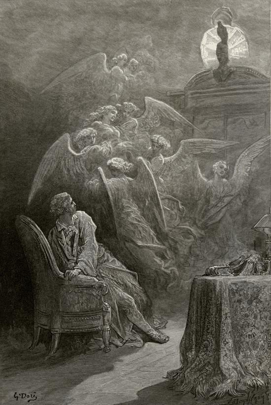 Respite and Nepenthe. Gustave Dore art print