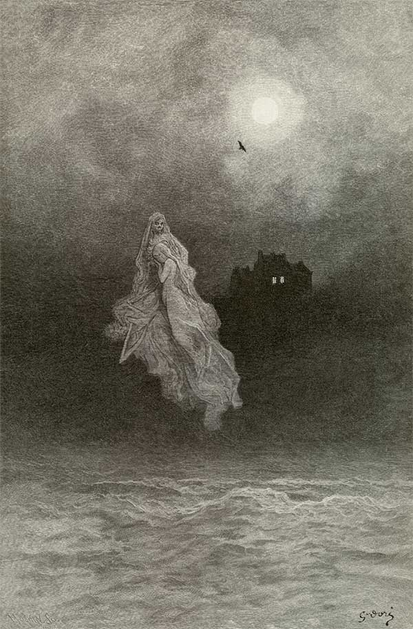 Get these back into the tempest. Gustave Dore art print