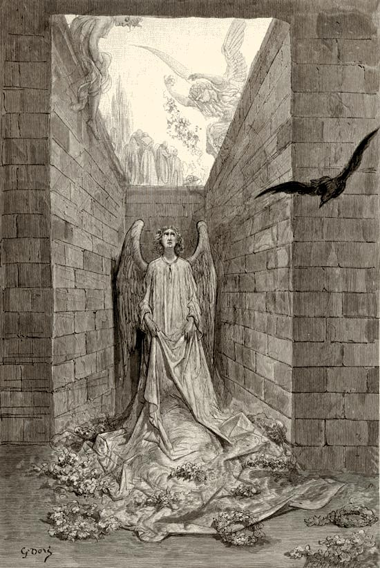 Sorrow for the Lost Lenore, Gustave Dore art print