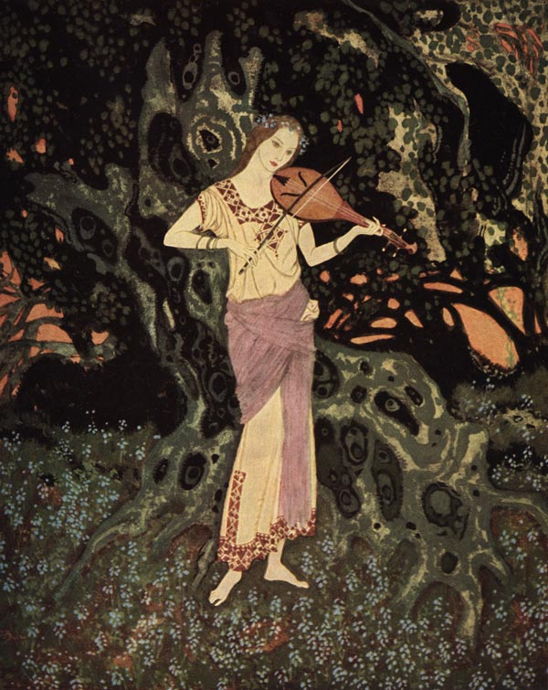 A spirit out of another world, Edmund Dulac, Dreamer of Dreams