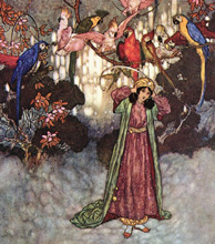 Edmund Dulac, Beauty and the Beast
