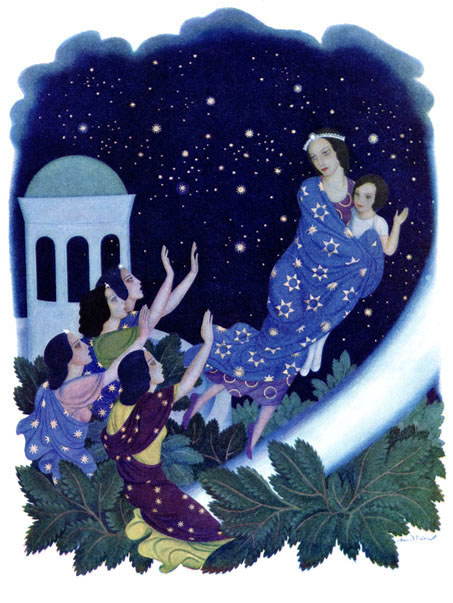 Astrella, Edmund Dulac, Daughters of the Stars