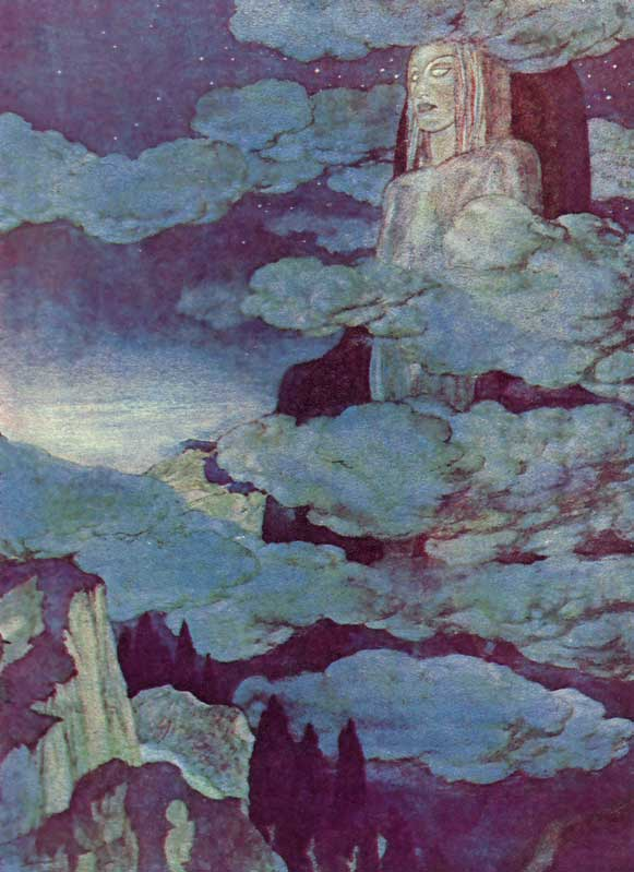 Dreamland -  Illustration to the Poem by Edgar Allan Poem, Edmund Dulac