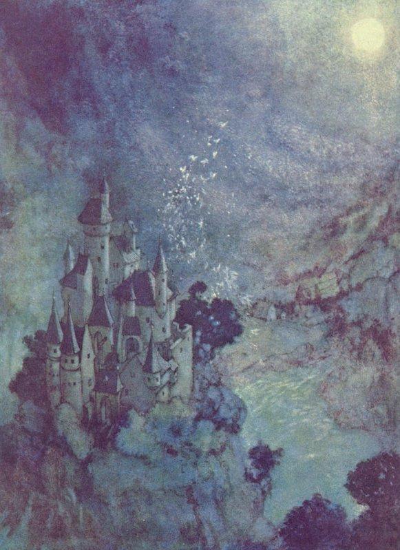 Fairy-Land -  Illustration to the Poem by Edgar Allan Poem, Edmund Dulac