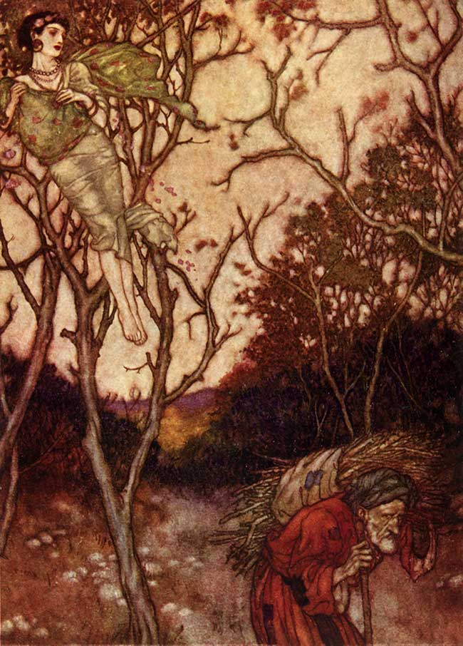 That Spring Should Vanish with the Rose, by Edmund Dulac