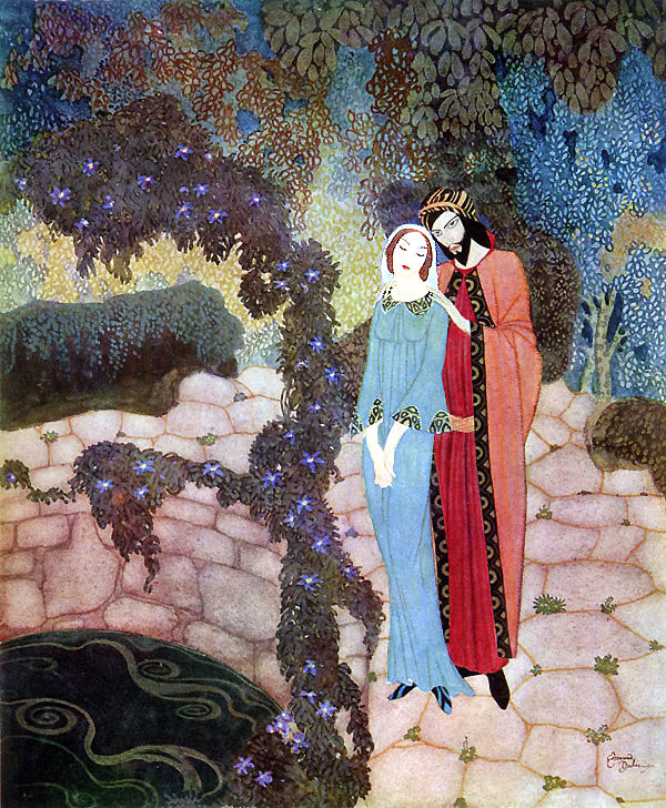 Edmund Dulac, They might have been lovers