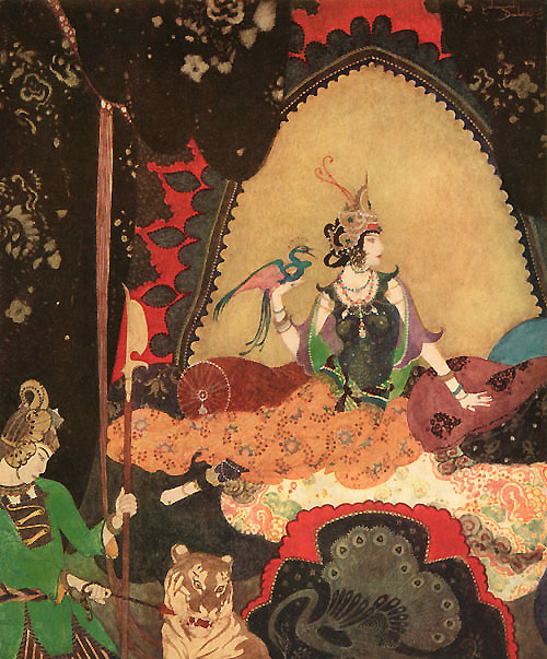 Layla  Picture Book for the Red Cross Edmund Dulac illustration