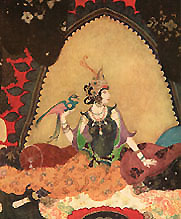 Layla and Majnun from Edmund Dulac Picture Book for the Red Cross