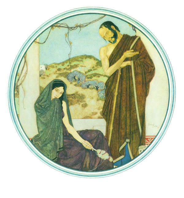 True Spartan Hearts Princess Mary's Gift Book Edmund Dulac illustration