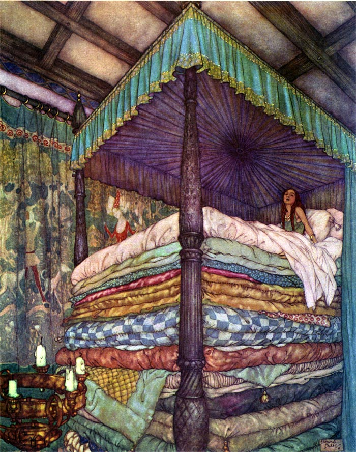 Edmund Dulac, The Real Princess