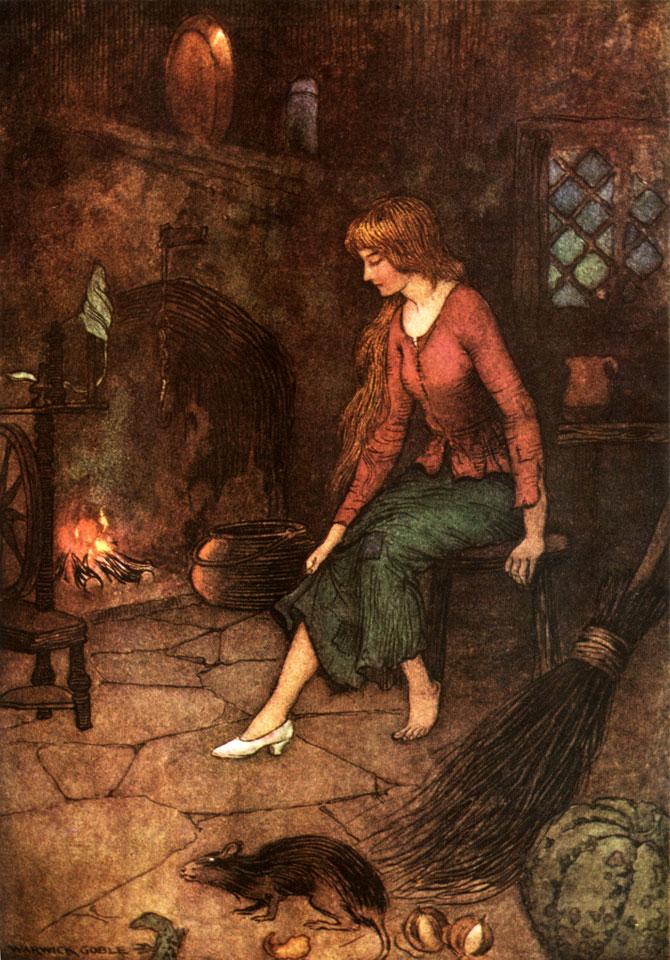 Cinderella, Warwick Goble, The Fairy Book