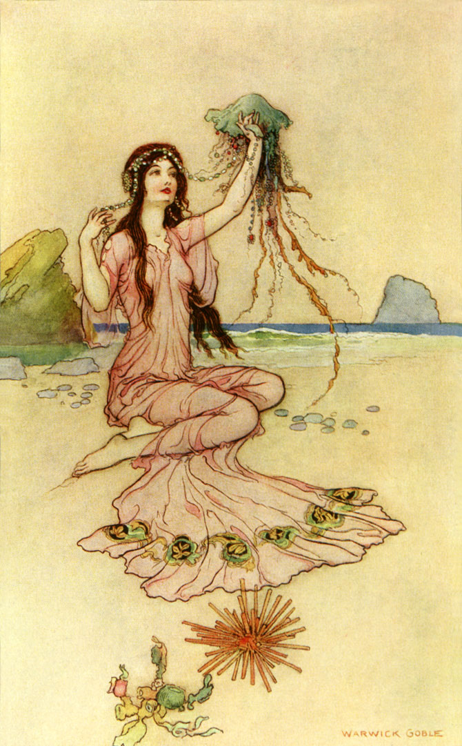 Lirpoe, Warwick Goble, The Book of Fairy Poetry