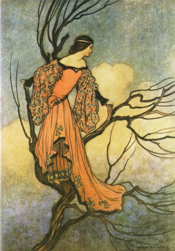 The Iron Stove, Warwick Goble, The Fairy Book
