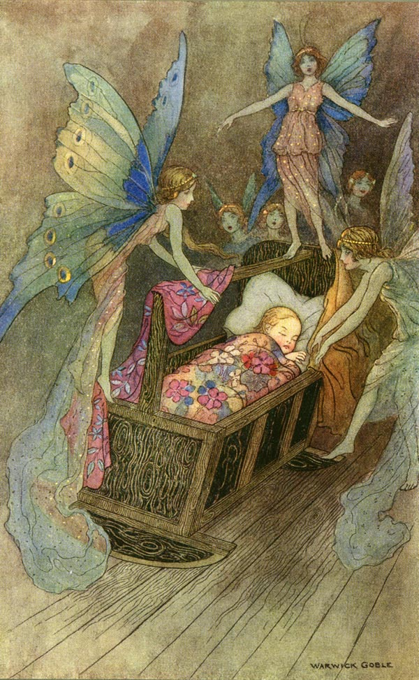 Good Luck befriend thee - illustration by Warwick Goble