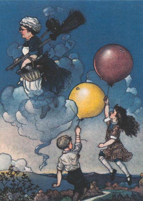 Runaway Adventure by Harold Gaze, circa 1923