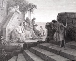 Illustration to The Bible (Luke): The Parable of the Prodigal Son.