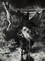 Wandering Jew, Gustave Dore