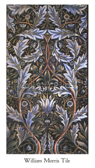 William Morris Tile