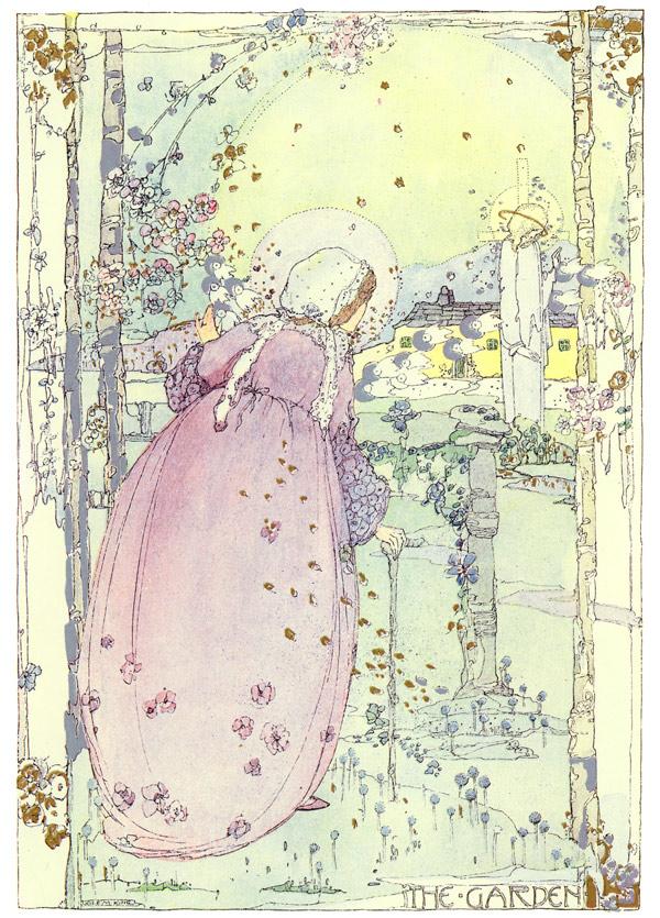 The Garden, Jessie M. King art print