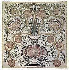 William Morris, Flowerpot Cushion